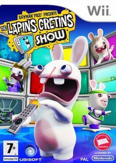 Jaquette de Rayman Prod' présente : The Lapins Crétins Show Wii