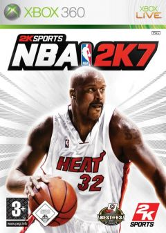 Jaquette de NBA 2K7 Xbox 360