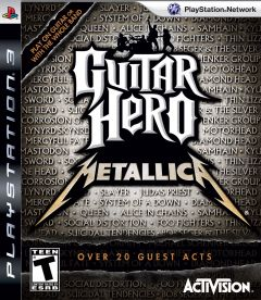 Jaquette de Guitar Hero : Metallica PlayStation 3
