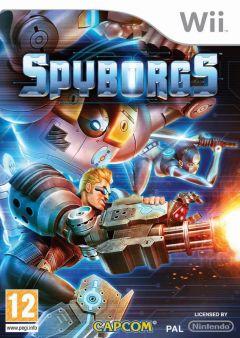 Jaquette de Spyborgs Wii