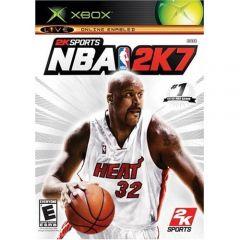 Jaquette de NBA 2K7 Xbox