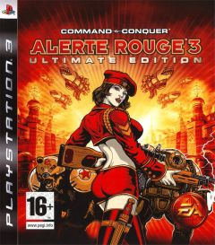 Jaquette de Command & Conquer : Alerte Rouge 3 PlayStation 3