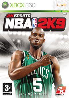 Jaquette de NBA 2K9 Xbox 360