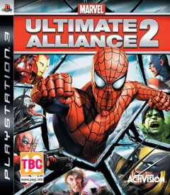 Jaquette de Marvel : Ultimate Alliance 2 PlayStation 3