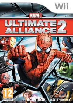 Jaquette de Marvel : Ultimate Alliance 2 Wii
