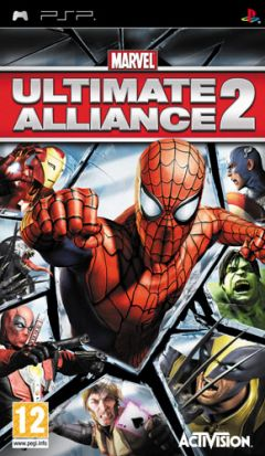 Jaquette de Marvel : Ultimate Alliance 2 PSP