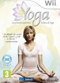 Jaquette de Yoga - La première expérience ludique de Yoga Wii