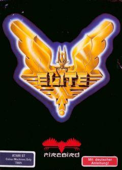 Jaquette de Elite Atari ST