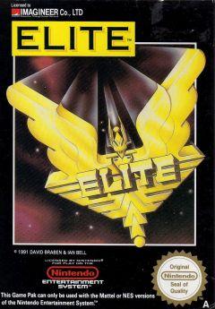 Jaquette de Elite NES