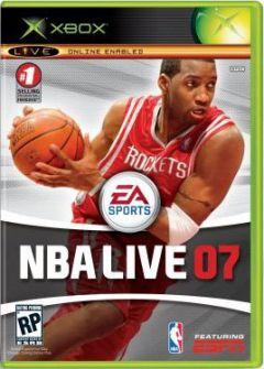 Jaquette de NBA Live 07 Xbox