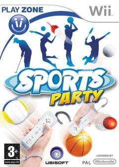 Jaquette de Sports Party Wii