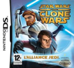 Jaquette de Star Wars The Clone Wars : l'Alliance Jedi DS