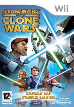 Jaquette de Star Wars The Clone Wars : Duels au Sabre Laser Wii