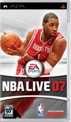 Jaquette de NBA Live 07 PSP
