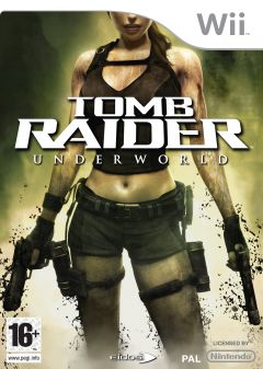 Jaquette de Tomb Raider Underworld Wii