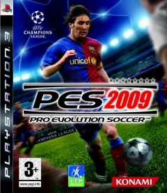 Jaquette de PES 2009 PlayStation 3