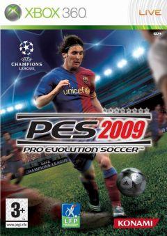 Jaquette de PES 2009 Xbox 360