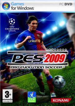 Jaquette de PES 2009 PC