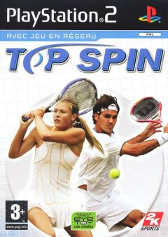 Jaquette de Top Spin PlayStation 2