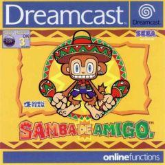 Jaquette de Samba de Amigo Dreamcast