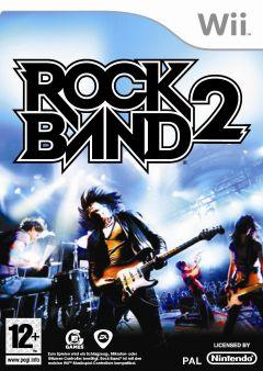 Jaquette de Rock Band 2 Wii