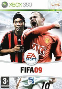 Jaquette de FIFA 09 Xbox 360