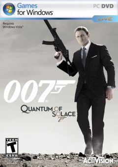 Jaquette de Quantum of Solace PC