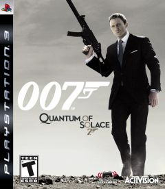 Jaquette de Quantum of Solace PlayStation 3