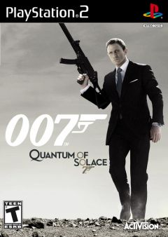 Jaquette de Quantum of Solace PlayStation 2