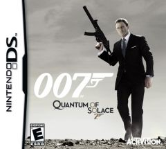 Jaquette de Quantum of Solace DS