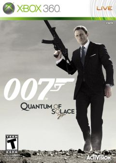 Jaquette de Quantum of Solace Xbox 360