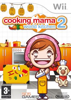 Jaquette de Cooking Mama World Kitchen Wii