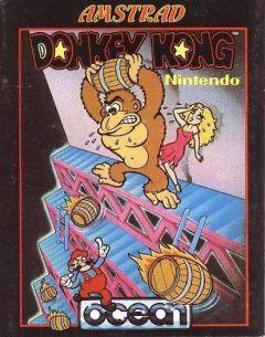 Jaquette de Donkey Kong Amstrad CPC
