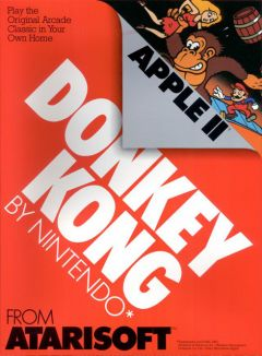 Jaquette de Donkey Kong Apple II