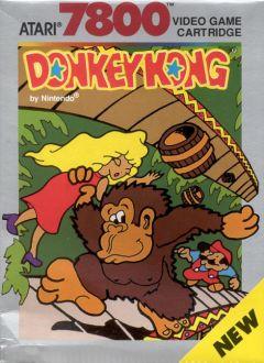 Jaquette de Donkey Kong Atari 7800