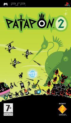 Jaquette de Patapon 2 PSP