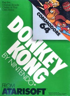 Jaquette de Donkey Kong Commodore 64