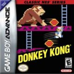 Jaquette de Donkey Kong Game Boy Advance