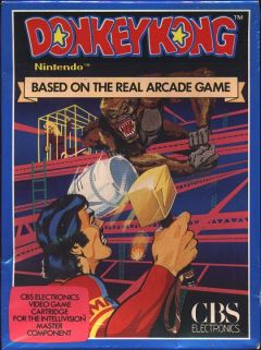 Jaquette de Donkey Kong Intellivision