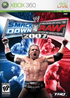 Jaquette de WWE SmackDown Vs. RAW 2007 Xbox 360