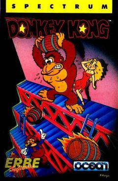 Jaquette de Donkey Kong ZX Spectrum