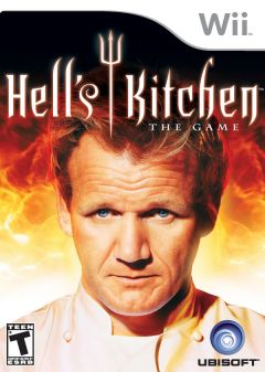 Jaquette de Hell's Kitchen Wii