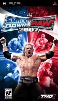 Jaquette de WWE SmackDown Vs. RAW 2007 PSP