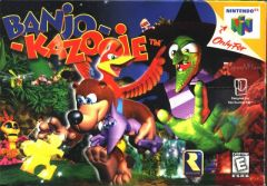 Jaquette de Banjo-Kazooie Nintendo 64