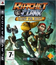 Jaquette de Ratchet & Clank Future : Quest for Booty PlayStation 3