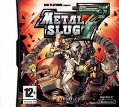 Jaquette de Metal Slug 7 DS