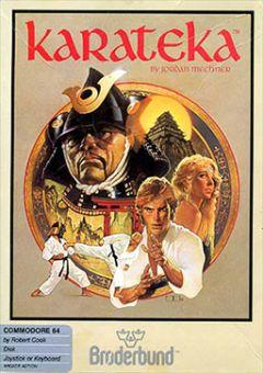Jaquette de Karateka Commodore 64