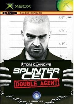 Jaquette de Splinter Cell : Double Agent Xbox
