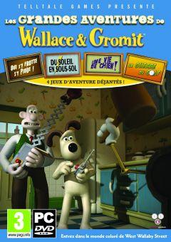 Jaquette de Les grandes aventures de Wallace & Gromit PC