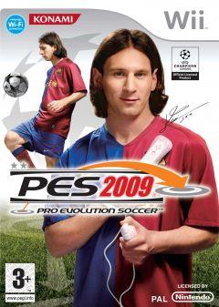 Jaquette de PES 2009 Wii